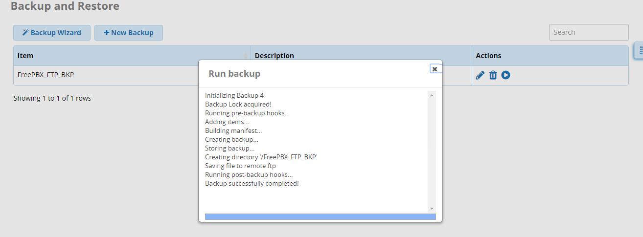 How to backup a FreePBX server? | GeekStuff