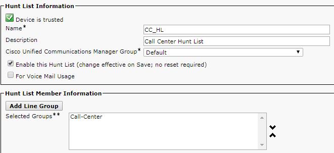 Hunt List