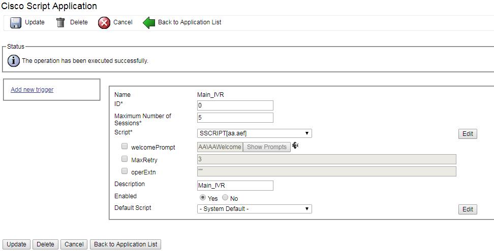 Cisco UCCX 11 5 Basic IVR Application | GeekStuff