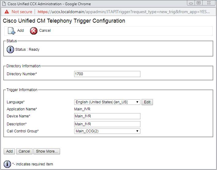 Script Application Trigger