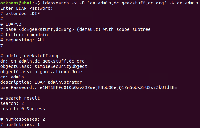 OpenLDAP operations (ldapsearch)    GeekStuff