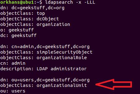 OpenLDAP operations (ldapadd)  | GeekStuff